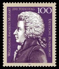 Música clásica relajante 7 imagen de sello de Mozart