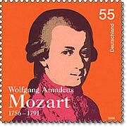Música clásica relajante 8 imagen de sello de Mozart 2