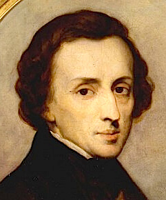 Música clásica relajante 9 imagen de cuadro de Chopin