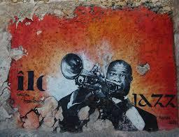 Música relajante jazz 9 imagen de póster de trompetista