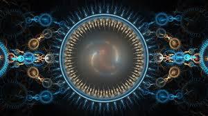 Música relajante chillout 4 imagen de círculo de caleidoscopio