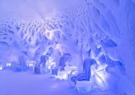 Música relajante lounge 5 imagen de sillones y paredes de hielo